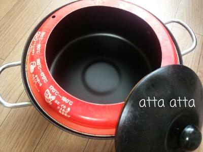 天ぷら鍋もオイルポットも持たない主義