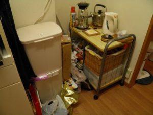 キッチン 冷蔵庫スペース 小さすぎる