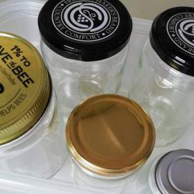 保存用の瓶 手作り