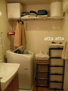 狭い賃貸住宅 洗面所