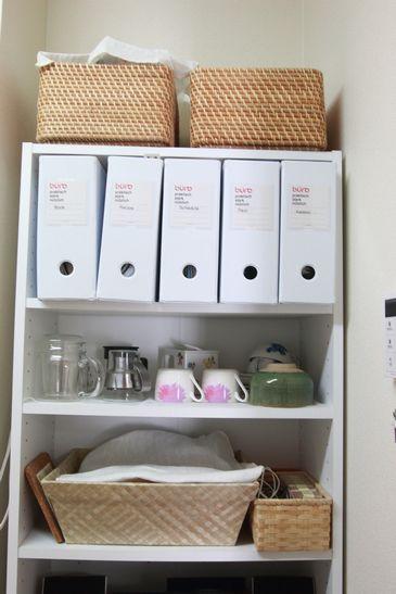 ニトリ カラーボックス活用 キッチン