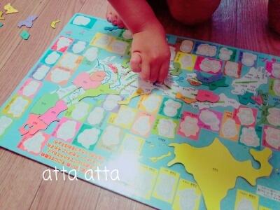 日本地図パズル ドラえもん
