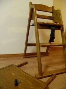 子ども椅子 拭き掃除 1家事