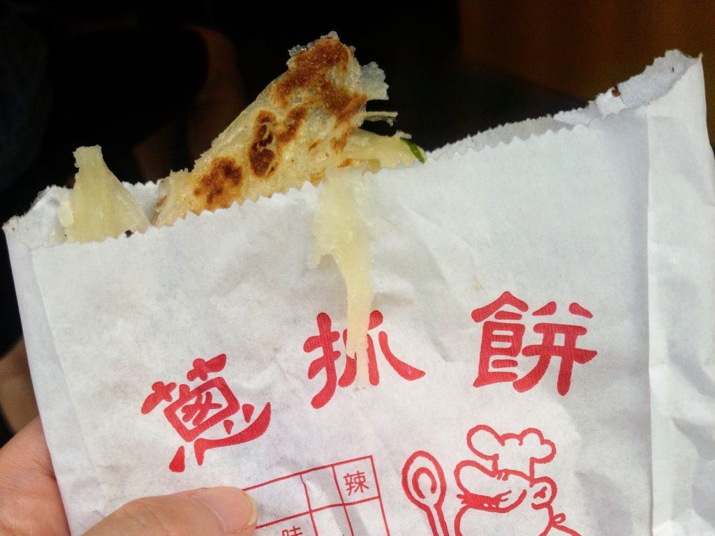 台湾B級グルメ 蔥抓餅