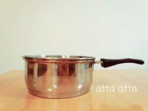 片手鍋 独身時代からの持ち物