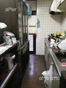キッチン お片づけ after
