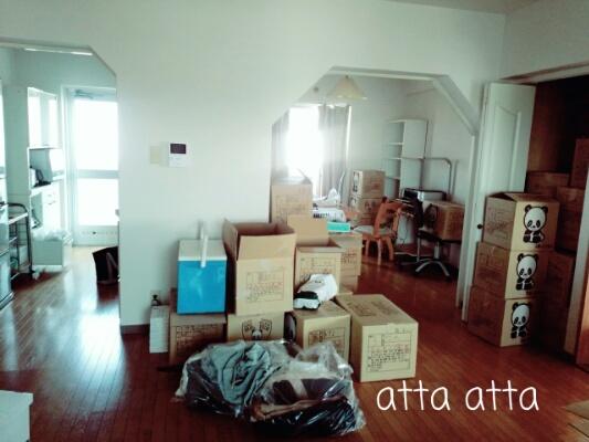 引っ越し後、1日目。キッチン&ダイニング
