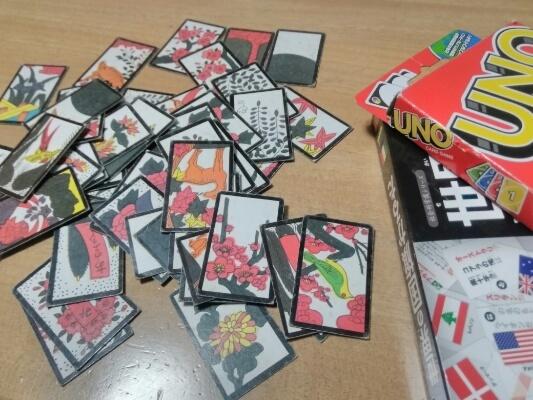 花札 UNO カード遊び