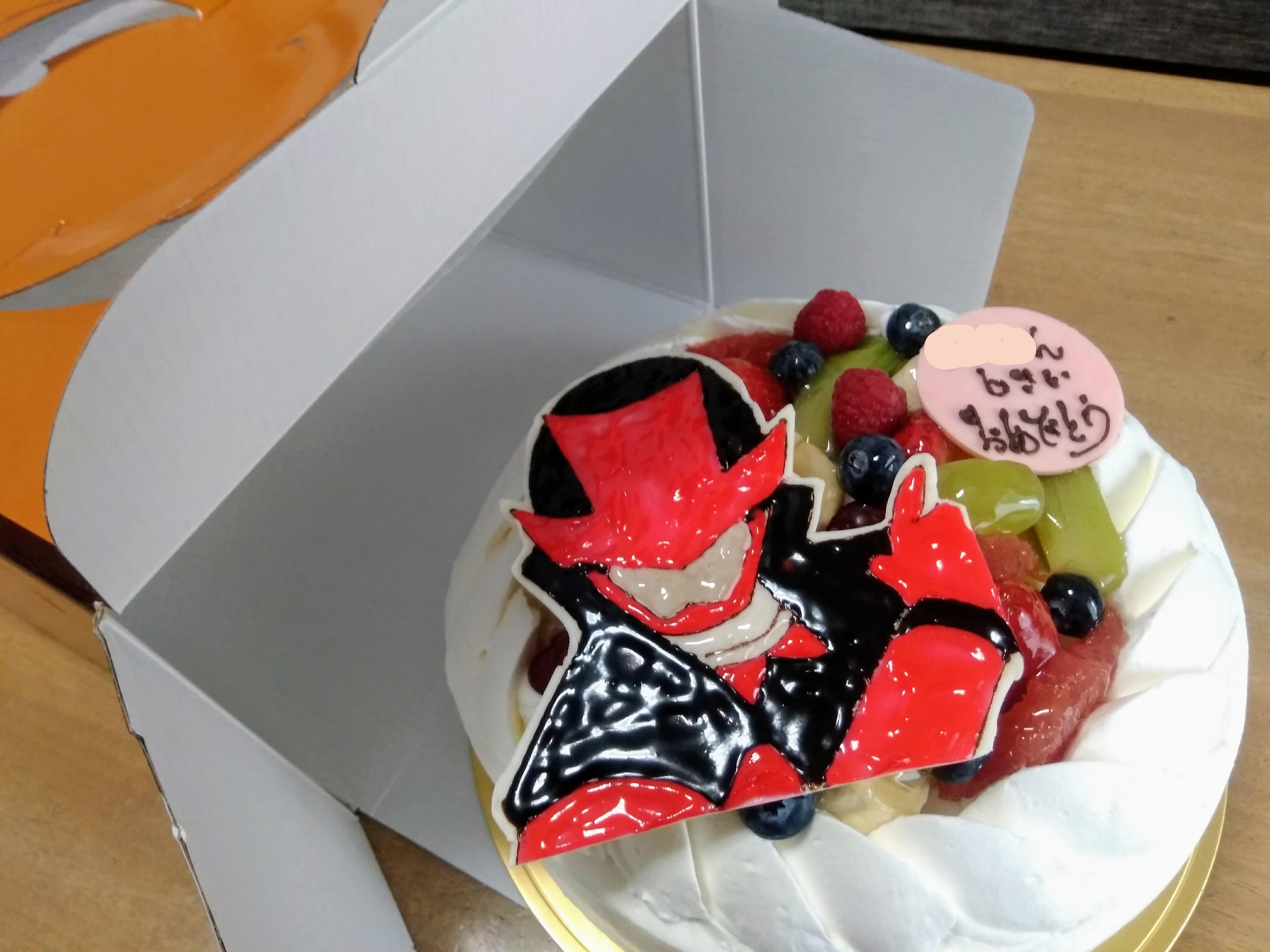 ルパンレンジャー キャラケーキ