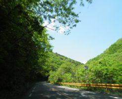 山道ドライブ