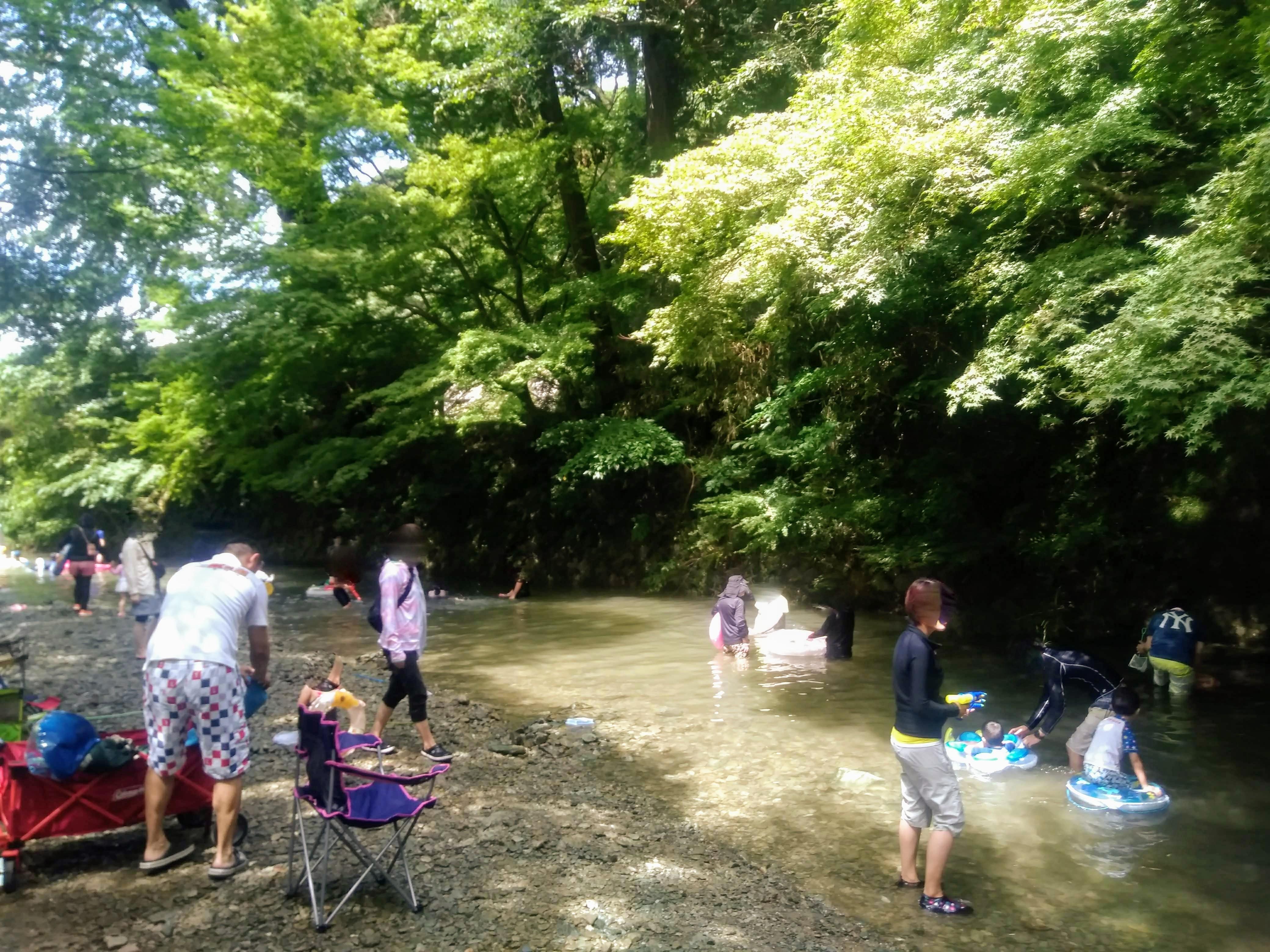 久山 猪野川 川遊び