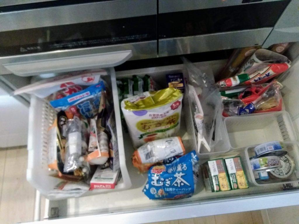 食品 収納
