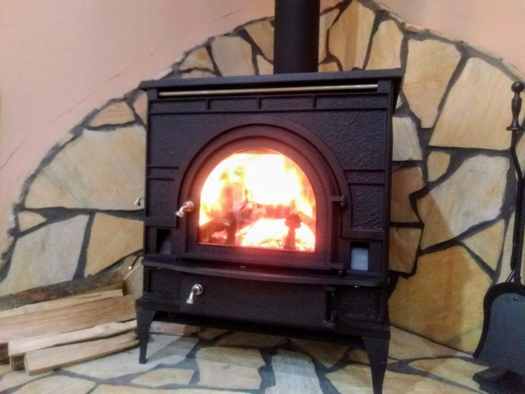 憧れの暖炉のあるおうち