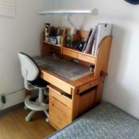 中学生の学習机