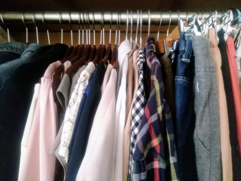 クローゼット 洋服収納