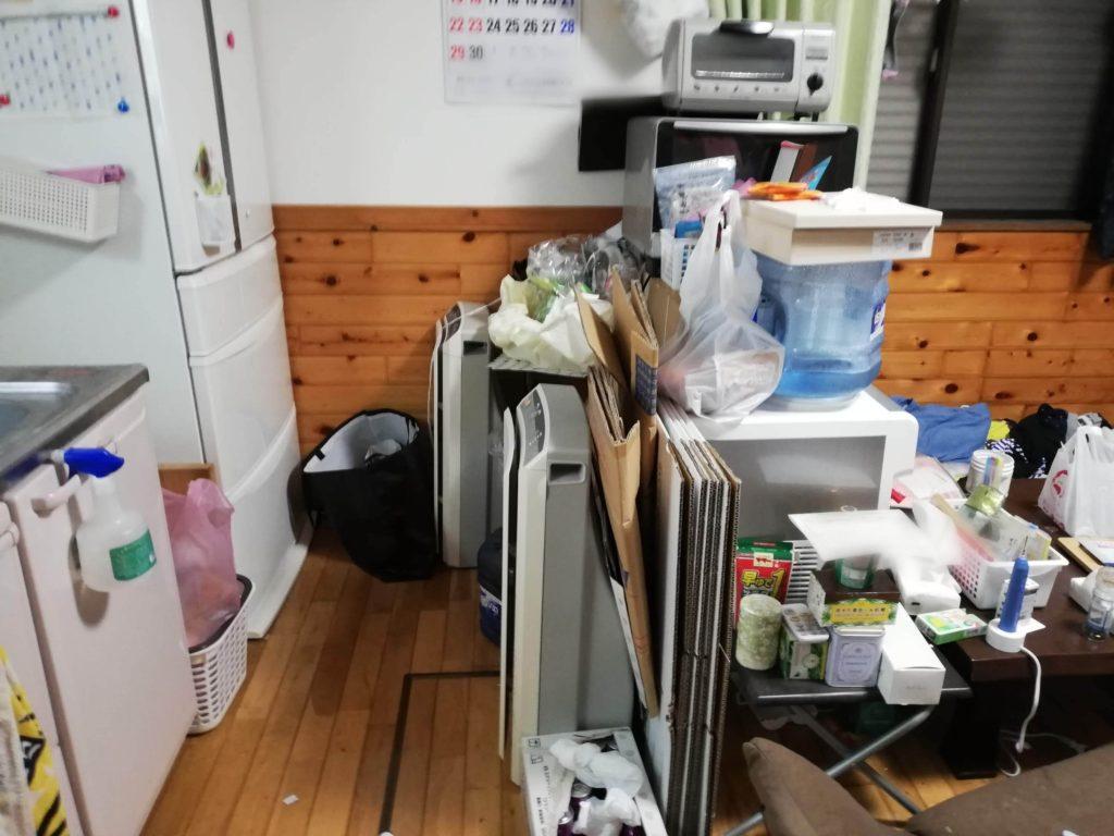 キッチン 食器棚の整理