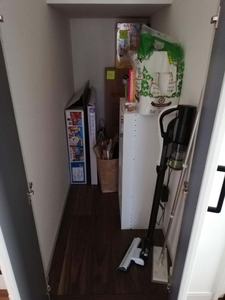 納戸の片付け 収納
