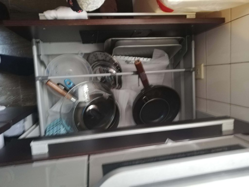 フライパン 鍋 収納