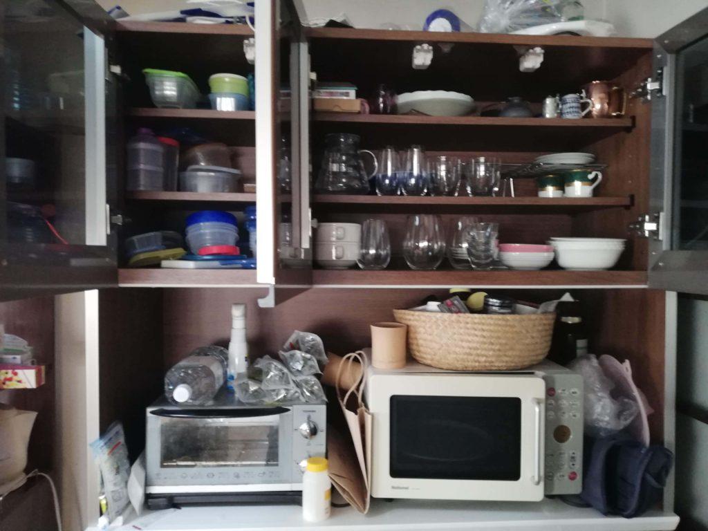 食器棚 キッチン 片付け