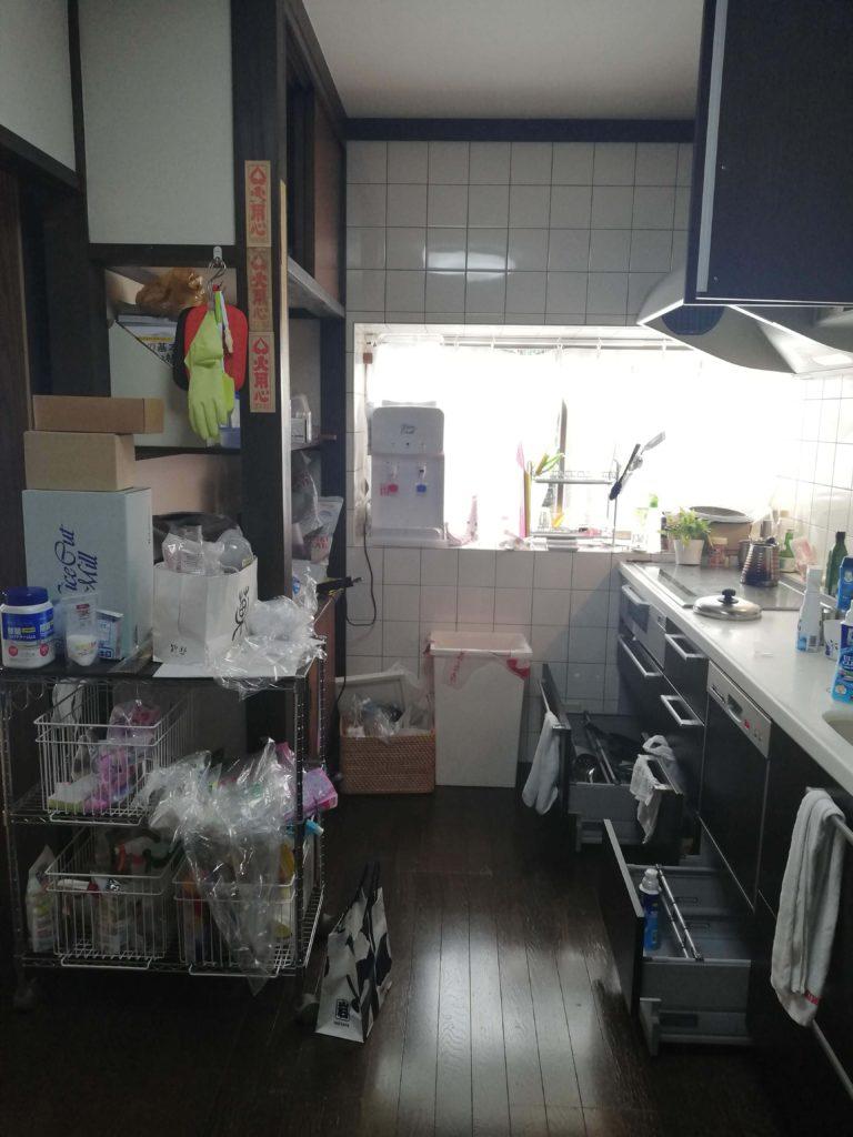 福岡 引越し お片付け キッチン